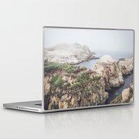 salt water Laptop & iPad Skins featuring Salt Flats by Jessica Pei