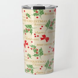 Christmas Time 8 Travel Mug