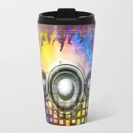 Music DJ Trance Travel Mug