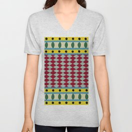 Egyptian Rug Unisex V-Neck