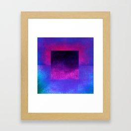 Square Composition VIII Framed Art Print