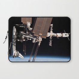 Endeavour docked to ISS Laptop Sleeve