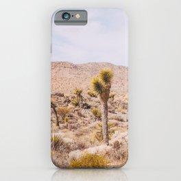 Desert Color - Boho Joshua Tree Photography iPhone Case
