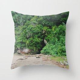Borneo Bako National Park Throw Pillow