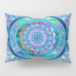 Radiant Boho Color Play Pillow Sham