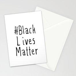 #Black Lives Matter Stationery Cards