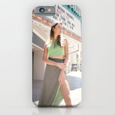 Model in Green Dress iPhone 6s Slim Case