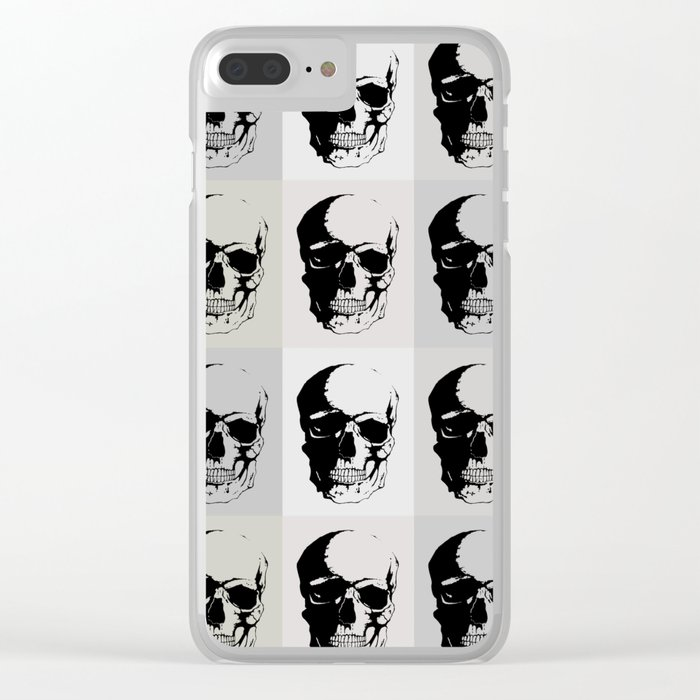 Fifty Shades of Death Clear iPhone Case