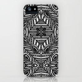 Tile Design Achromatic iPhone Case