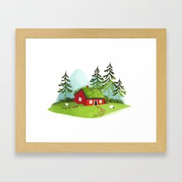Lodge Framed Art Print