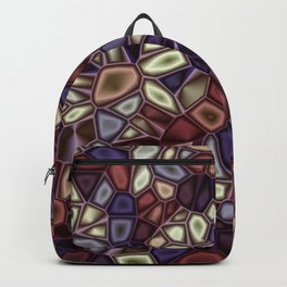 Fractal Gems 01 - Fall Vibrant Backpack