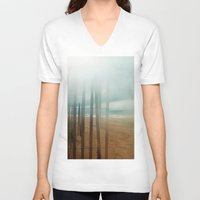 wander V-neck T-shirts featuring Wander by Bella Blue Photography