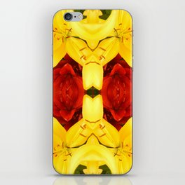 """""""A Gathering of Lilies"""" Remix - 1 (4-1) [D4465~12] iPhone Skin"""