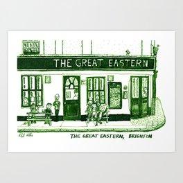 The Great Eastern, Brighton Art Print