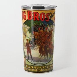 Barnum & Bailey horse poster Travel Mug