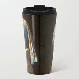 Girl with a Pearl Earring (1665), Old Masters Collection Travel Mug