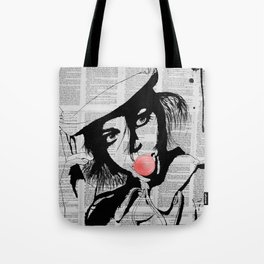 Bubble gum colorized Tote Bag
