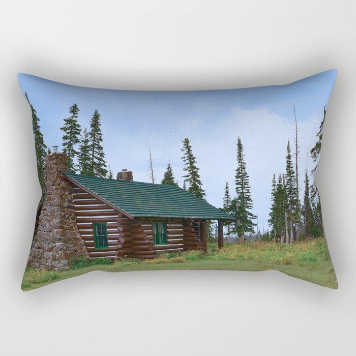 Let's Go Camping! Rectangular Pillow