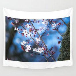 Pink spring Wall Tapestry