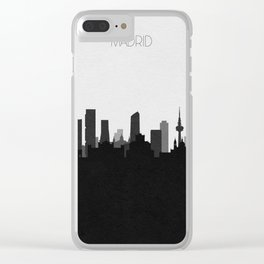 City Skylines: Madrid Clear iPhone Case