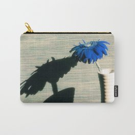 Blue Gerbera Carry-All Pouch