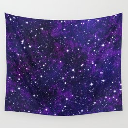 winter galactic Wall Tapestry