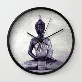 Buddha  - JUSTART © Wall Clock