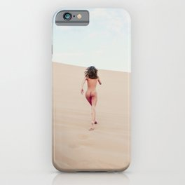 1348 Carissima Hedy Sandy Dune Nude iPhone Case