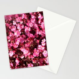 Pink Flower Power Stationery Cards