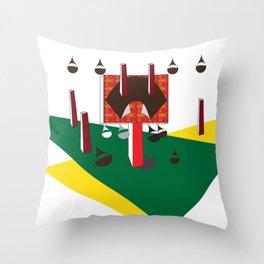 Machinery, No. 0002 Throw Pillow