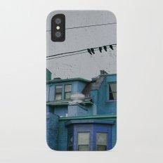 Blue Slim Case iPhone X