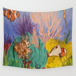 Circus Under the Sea Wall Tapestry