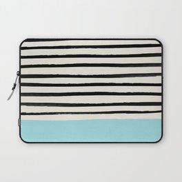 Sky Blue x Stripes Laptop Sleeve