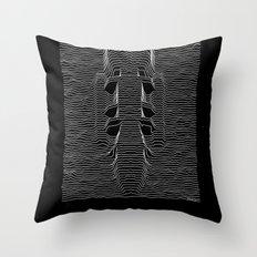Galactica Division Throw Pillow