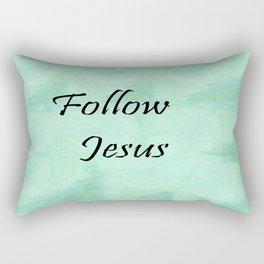 Follow Jesus Rectangular Pillow