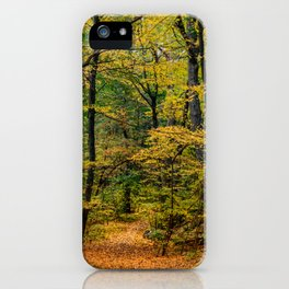 October Forest 3 iPhone Case