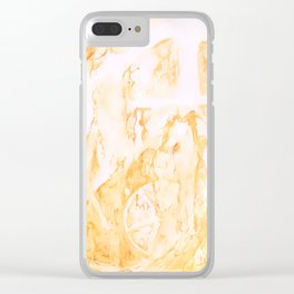 If Wishes Were Horses Clear iPhone Case