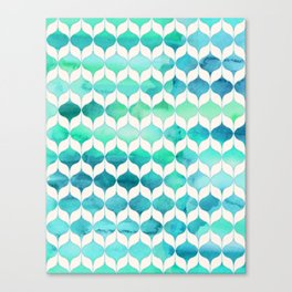 Ocean Rhythms and Mermaid's Tails Canvas Print