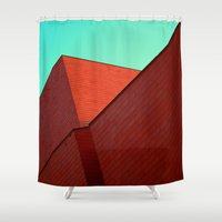 office Shower Curtains featuring BOX OFFICE by DANIEL COULMANN