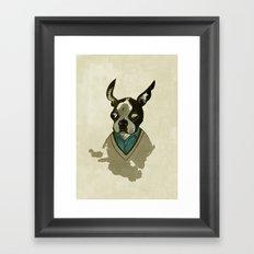 perfect gentleman Framed Art Print