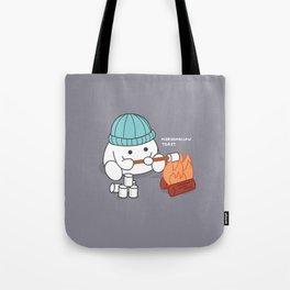 Marshmallow Toast Tote Bag