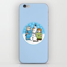 Want to Build a Snowman? iPhone & iPod Skin
