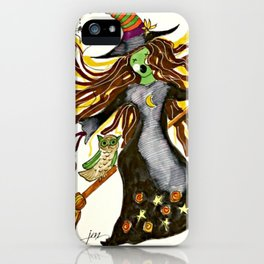 Wacky Witch iPhone Case
