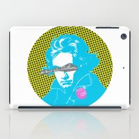 beethoven iPad Cases featuring Ludwig van Beethoven 14 by Marko Köppe