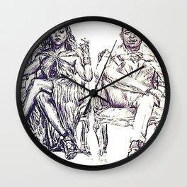 Fox Wednesday Wall Clock
