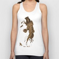 angels Tank Tops featuring Angels by doctor iNk