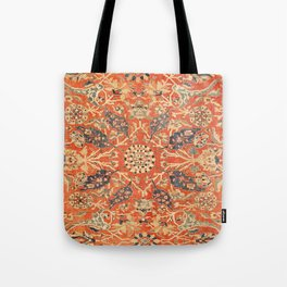 Antique Persian Sultanabad Rug Print Tote Bag