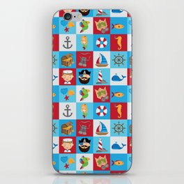 Ahoy There! iPhone Skin