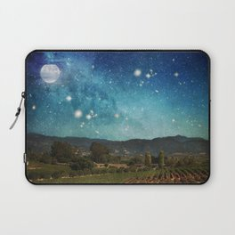Starlit Vineyard II Laptop Sleeve