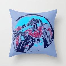 Mechanical Mayhem Throw Pillow